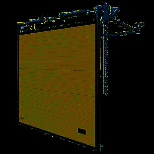 Aluminiowa K2 IA – bramy przemysłowe