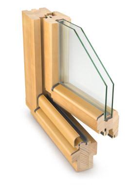 Profil IV68 Softline – stolarka drewniana