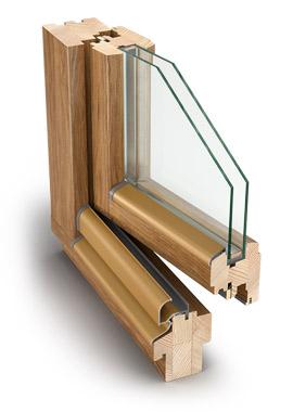 Profil IV68 Standard – stolarka drewniana
