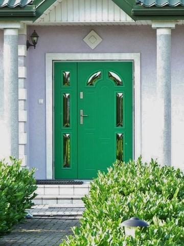 Wikęd – drzwi zewnętrzne